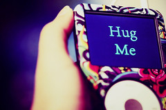 [40/365] Hug Me So Tight And Never Let Go ! ('HerSecrets.Away) Tags: classic me hug ipod hand hugme edhardy ipodclassic fronpage addyourselfguysitdoesntworkwithme