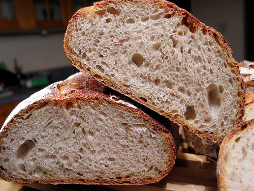 pain de mie batard load crumb