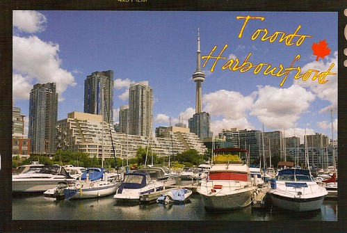 Toronto Harbor Postcard