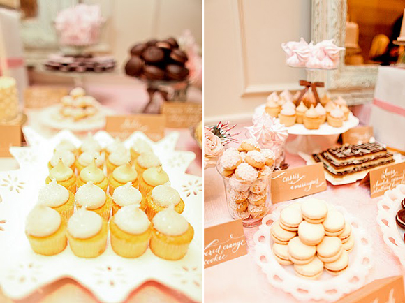 Desserts from One Girl Cookie - The Wedding Party