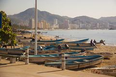 Acapulco Mexico (Mona Hura) Tags: beach mexico boats acapulco 8299