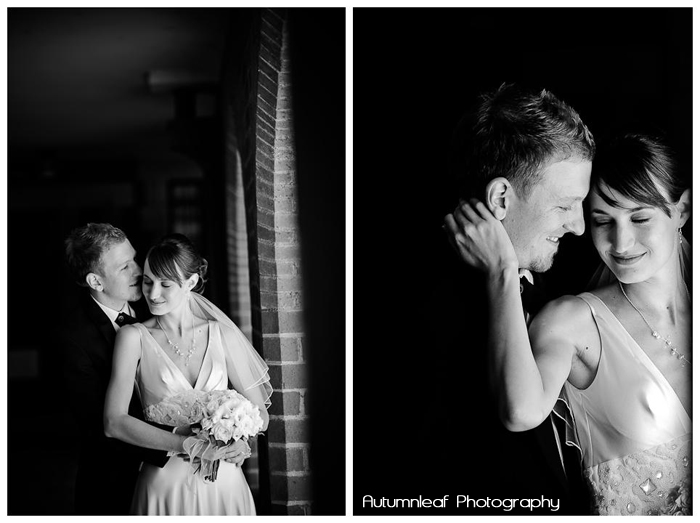 Frances & Bradley's Wedding - B&W Romance