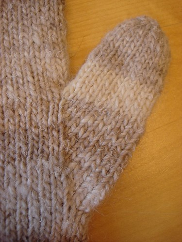 thumb and gusset