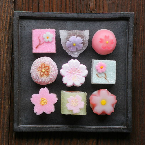 Sakura Themed Jelly Candies