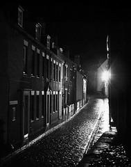 Jet black in Whitby (floydian4u) Tags: whitby northyorkshire uk sea seaside abbey street jet night light house cobbles old