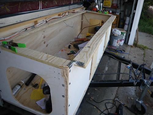 1998 Coleman Storage Trunk Rebuild