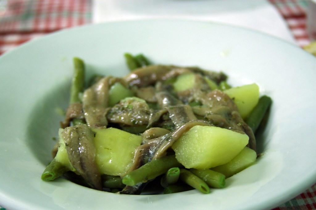 Acciughe salate alla genovese