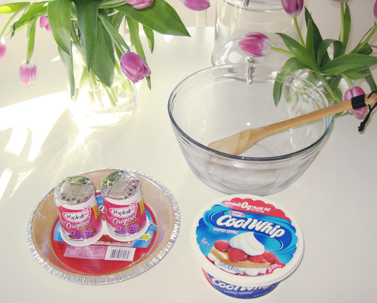 yogurt pie recipe -1