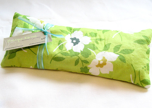 Swing Toss Eye Pillow by Boutique Karma