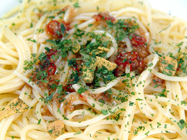 スパゲティ ペペロンチーノ