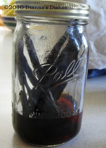 Make Your Own Vanilla Extract: My Two Year Old Jar Almost Empty