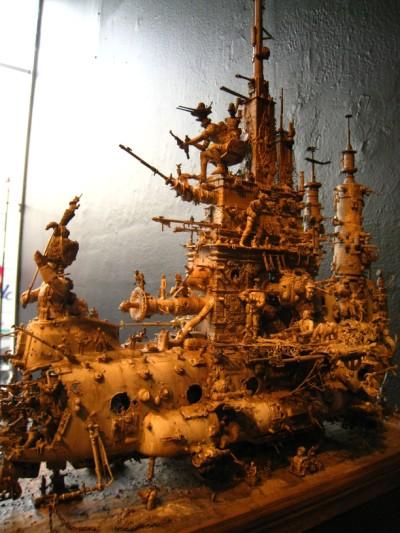 Kris Kuksi @ Shooting Gallery 2010