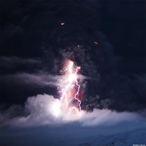 The Dark Tower - Eyjafjallajökull Erupting