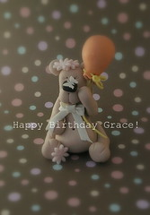 Happy Birthday (Dot Klerck....) Tags: flowers cake teddy balloon grace dot cupcakesbydesign