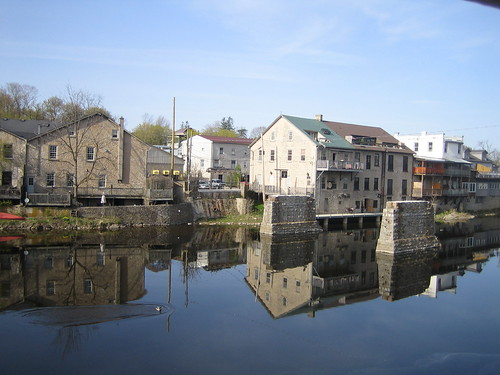 Elora (ON) Canada  city photos gallery : ... West reflected in the Grand River, Elora Ontario Canada by eloramews