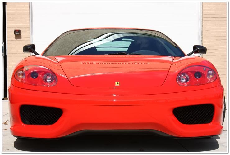 Ferrari Challenge Stradale front view