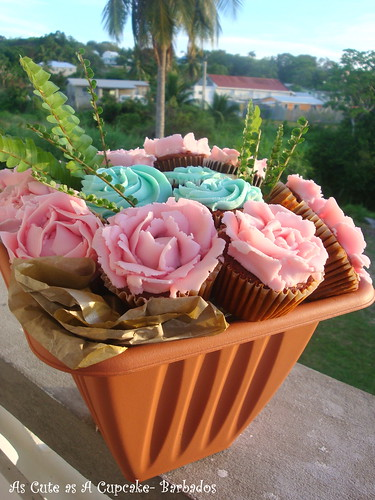 Rosy Posy Cupcake Bouquet