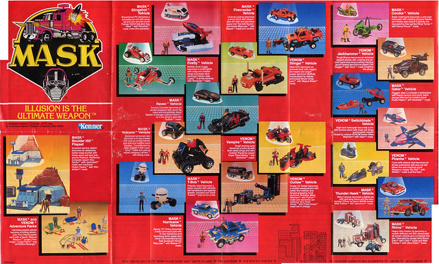 1986 Mask Catalog (kenner)