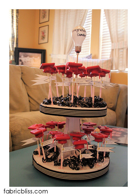 graduation candy pops