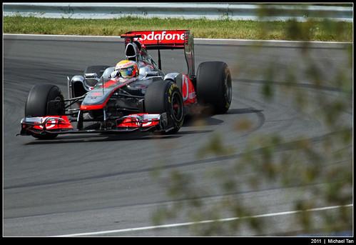 Formula 1 - 3rd practice session - Lewis Hamilton