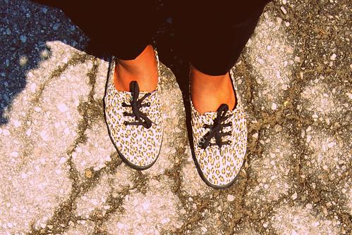 H&M: Leopard Shoes