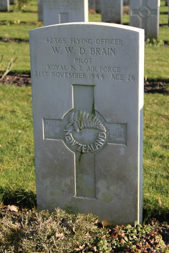 Grave of William Walter d'Arcy Brain