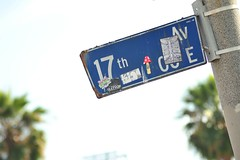 TGIF Los Angeles I 002 (Martini Mike / House of D'Arco) Tags: california city venice people usa beach sign photography la photo losangeles nikon photographer streetsign places socal photograph boardwalk venicebeach tgif 17th 17thave 17thavenue darco martinimike tgiflosangelesi
