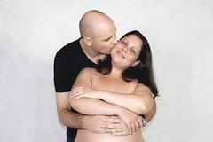 _MG_2850 (Michael Christian Parker) Tags: black background faded familia fotografia pregnant holyfamily love ensaiosfotográficos michaelcparker homestudio estudio photography