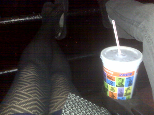 the only place to sit at the theater!