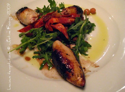 Stuffed Baby Squid - St Germain, Farringdon