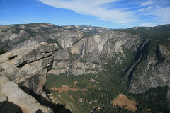 Valley and Yosemite Fall Photo
