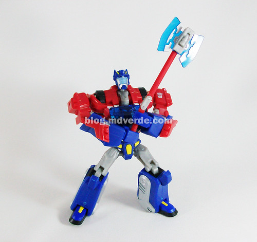 Transformers Optimus Prime Animated Deluxe Cybertron mode - modo
