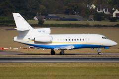 N876C - 162 - Private - Dassault Falcon 900EX - Luton - 091023 - Steven Gray - IMG_2915