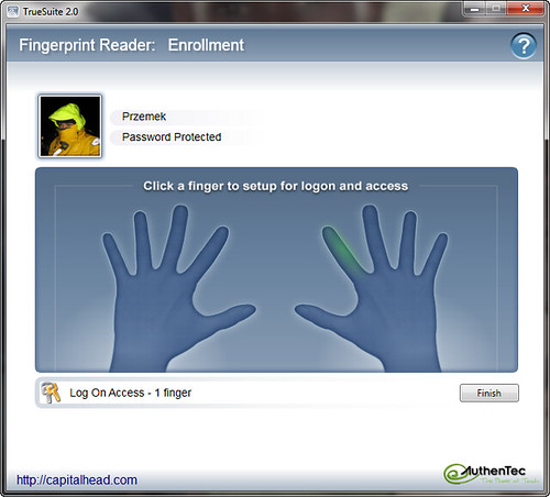 Enable Logon Using Biometric Fingerprint Reader in Windows 7 x86