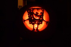 For Ewok (Heavy Metal Gang) Tags: square pumpkin pants jackolantern bob crafty sponge thispumpkinisthick