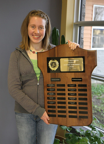 Grade 11 Female Highest Average Alison Gamble