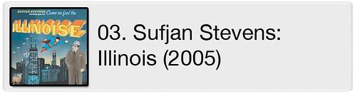 03. Sufjan Stevens - Illinois (2005)