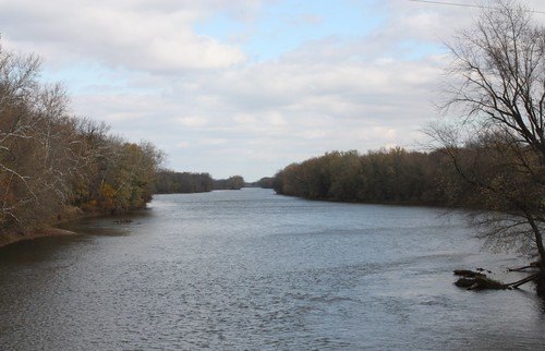 Tippecanoe river. Somewhere in Prophet#39;s town 10/31/2009