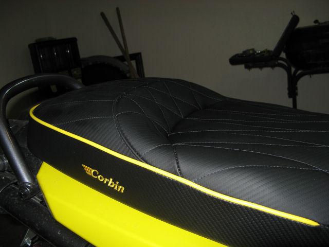 ZUMAFORUMS NET - View topic - New Corbin Seat Review