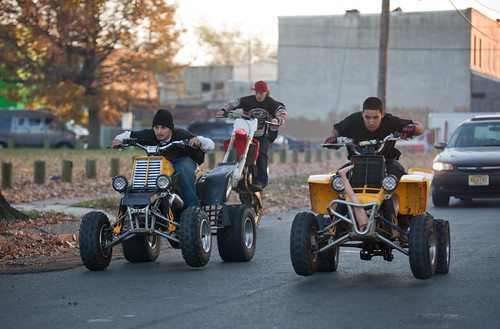 Camden ATV Street Race Begins