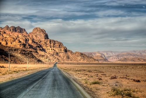 The Road to Wadi Rum