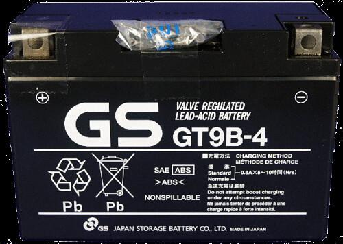 gs gt9b-4 แบตเตอรี่มอเตอร์ไซต์