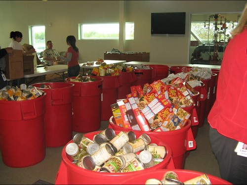 Rackspace Food Drive 2008