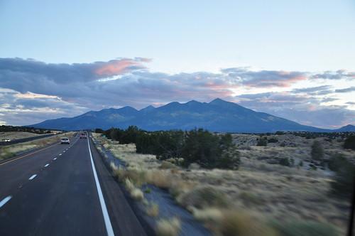 vers Flagstaff