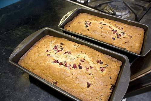Baked Cran Orange bread
