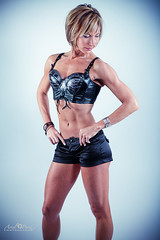 Ms T (arielphotography) Tags: ariel pecs fashion canon studio model arms legs muscle chest