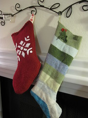 Felted Sweater Stockings