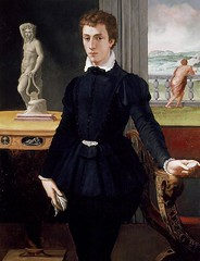 Allori, Alessandro (1535 - 1607), Portrait of a young Man. Ashmolean, Oxford (renzodionigi) Tags: portrait sculpture painting design ritratto art italian fine italiana arte