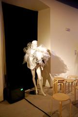 """Pink Noise"" by Ana Garca Iglesias (Punto y Raya Festival) Tags: barcelona november noviembre 2009 anasantos artssantamonica puntoyrayafestival madactions noelpalazzo"