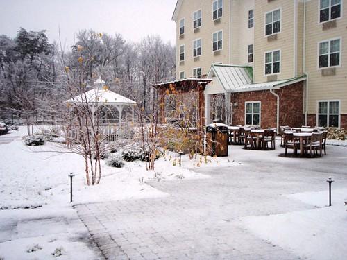 5 Dec 09 4 PM Snow in Washington DC